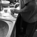 Mats preparing dinner!