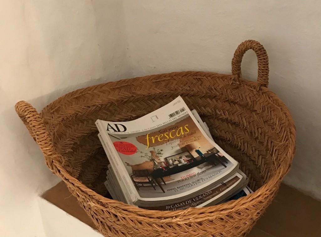 Baskets everywhere!