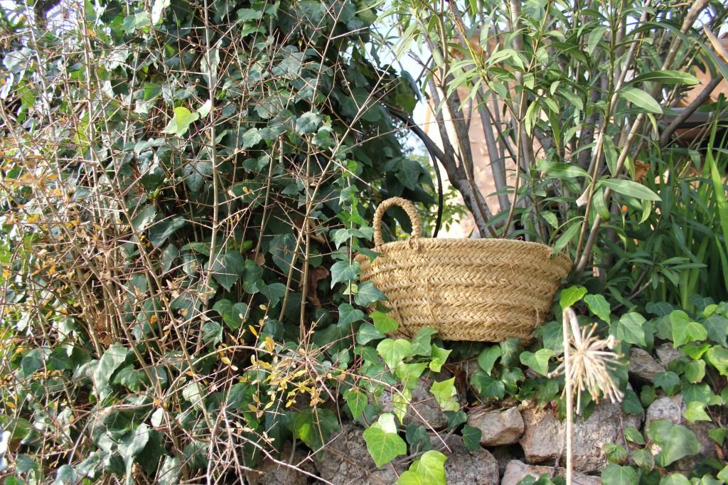 Robust gardening basket