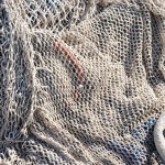 Fishing nets on the pier