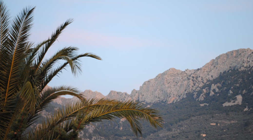 The surrounding Tramontana  mountains